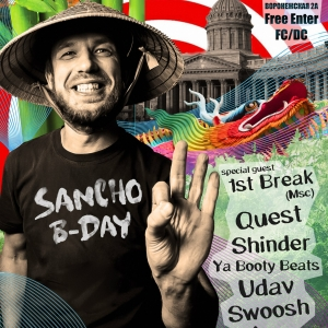 23.12.2017 Sancho Bday ft 1st Break @ Griboedov Hill