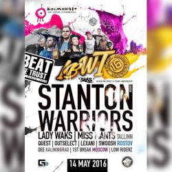 16 лет IBWT ft Stanton Warriors, 1st Break, Lady Waks, Miss Mants